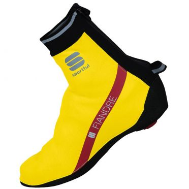 Sportful Fiandre WS shoecover yellow fluo men