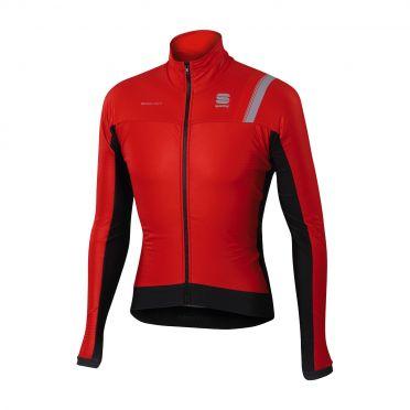 Sportful Bodyfit pro thermal long sleeve jacket red/black men