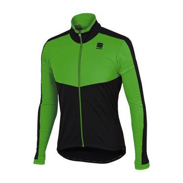 Sportful Pordoi WS long sleeve jacket green/black men
