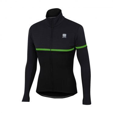 Sportful Giara softshell jacket black/green men