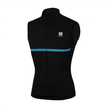 Sportful Giara thermal sleeveless vest black/blue men