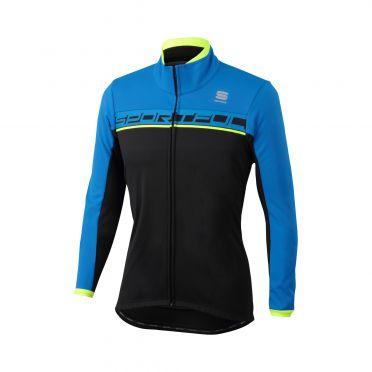 Sportful Giro softshell jacket black/blue men