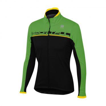 Sportful Giro softshell jacket black/green men