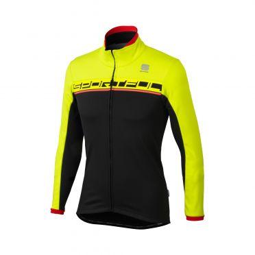 Sportful Giro softshell jacket black/yellow men
