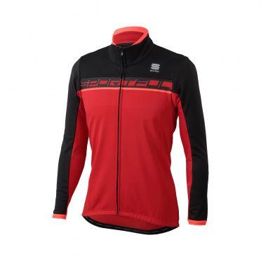 Sportful Giro softshell jacket red/black men