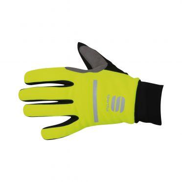 Sportful Polar glove yellow fluo/black men