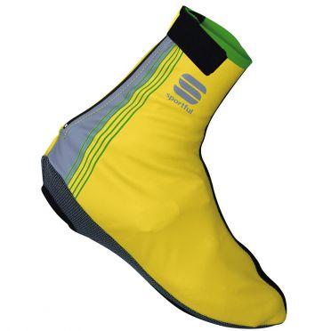 Sportful Race WS shoecover yellow fluo men