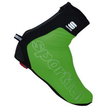 Sportful Roubaix thermal mountainbike shoecover green men