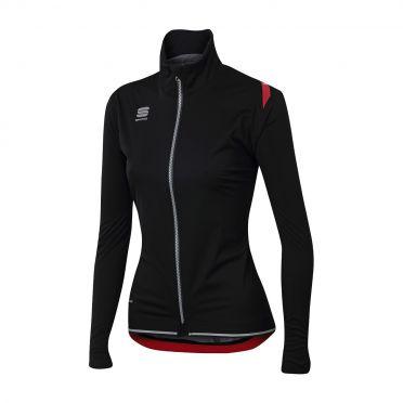 Sportful Fiandre ultimate WS W long sleeve jacket black women