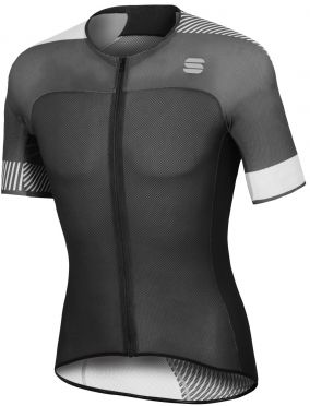 Sportful Bodyfit pro light jersey black/white men