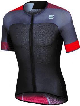 Sportful Bodyfit pro light jersey black/red men