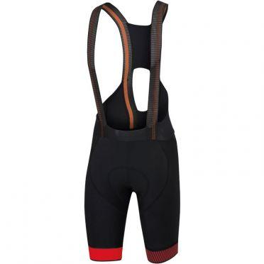 Sportful Bodyfit pro ltd bibshort black/red men