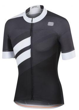 Sportful Bodyfit team jersey black/white men
