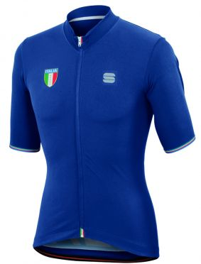 Sportful Italia CL jersey blue men