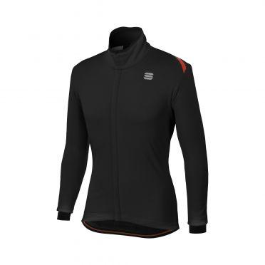 Sportful Fiandre cabrio long sleeve jacket black men