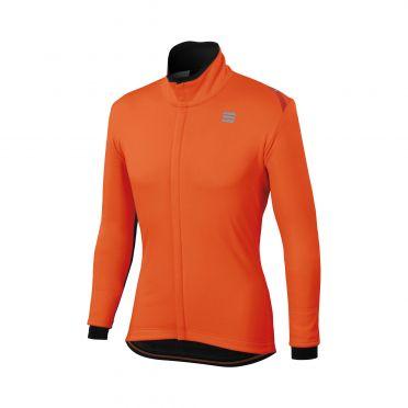 Sportful Fiandre cabrio long sleeve jacket orange men