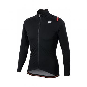 Sportful Fiandre ultimate 2 WS long sleeve jacket black men