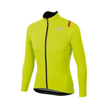 Sportful Fiandre ultimate 2 WS long sleeve jacket yellow men