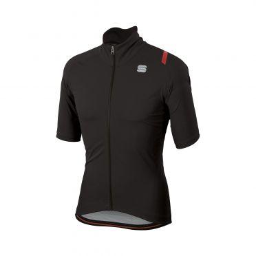 Sportful Fiandre ultimate 2 WS short sleeve jacket black men