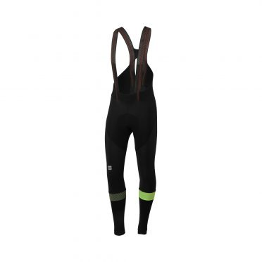 Sportful Bodyfit pro bibtight black/yellow men