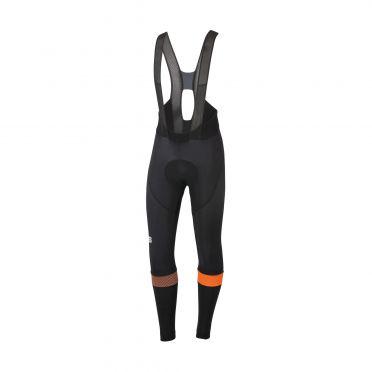 Sportful Bodyfit pro bibtight black/orange men
