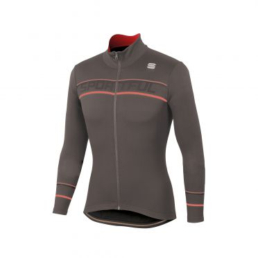 Sportful Giro thermal jersey brown men