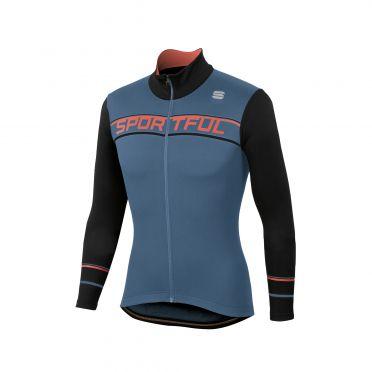 Sportful Giro thermal jersey blue/black men