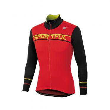 Sportful Giro thermal jersey red/black men