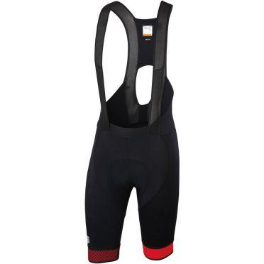 Sportful Bodyfit pro 2.0 bibshort black/red men