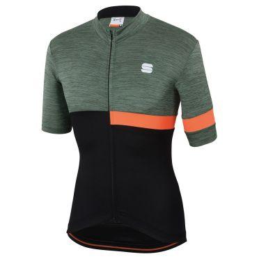 Sportful Giara Jersey green/black men