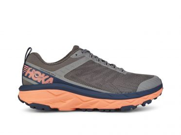 Hoka One One Challenger ATR 5 running shoes dark grey/pink women