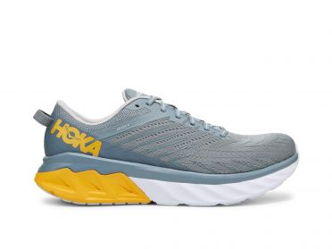 Hoka One One Arahi 4 running shoes blue/yellow men