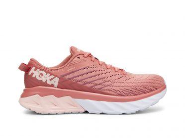 Hoka One One Arahi 4 running shoes pink women