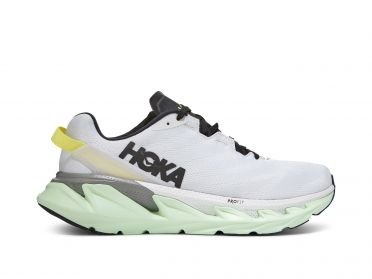 Hoka One One Elevon 2 running shoes white/green men
