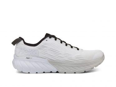 Hoka One One Mach 3 running shoes white women