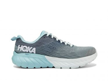 Hoka One One Mach 3 running shoes blue women