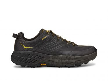 Hoka One One Speedgoat 4 GTX trail running shoes black men