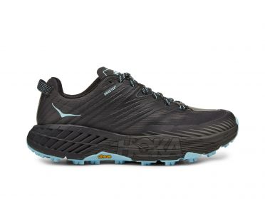 Hoka One One Speedgoat 4 GTX trail running shoes black women