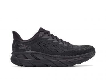 Hoka One One Clifton 7 running shoes black men