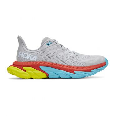 Hoka One One Clifton 7 Edge running shoes lunar white men