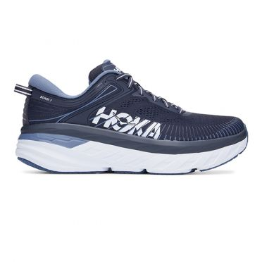 Hoka One One Bondi 7 running shoes dark blue men