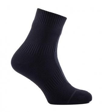 Sealskinz Road hydrostop ankle cycling socks black/grey