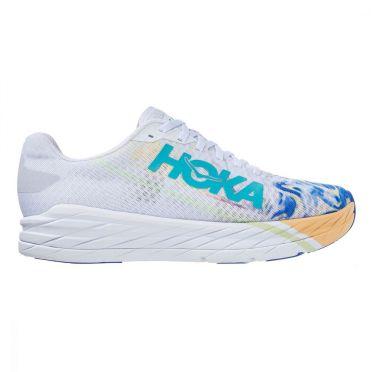 Hoka One One Clifton 8 running shoes white unisex