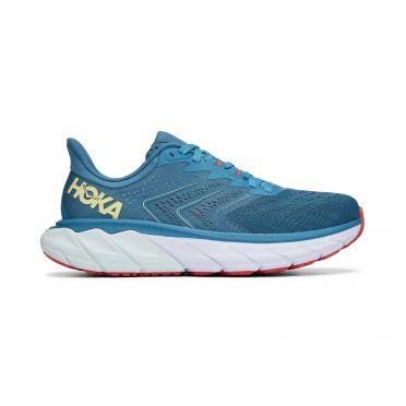 Hoka One One Arahi 5 running shoes lightblue woman