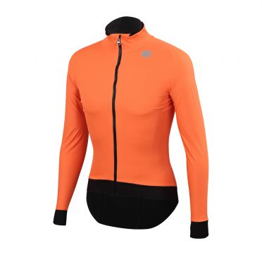 Sportful Fiandre pro long sleeve jacket orange men