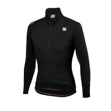 Sportful Fiandre strato wind long sleeve jacket black men