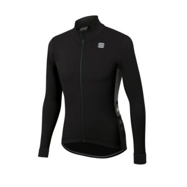Sportful Neo softshell cycling jacket long sleeve black men
