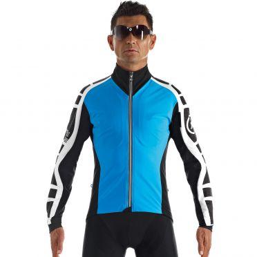 Assos iJ.bonKaCento.6 cycling jacket blue men