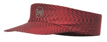 BUFF Run visor R-jam red