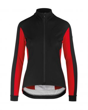 Assos HabuJacketLaalalai cycling jacket black/red women